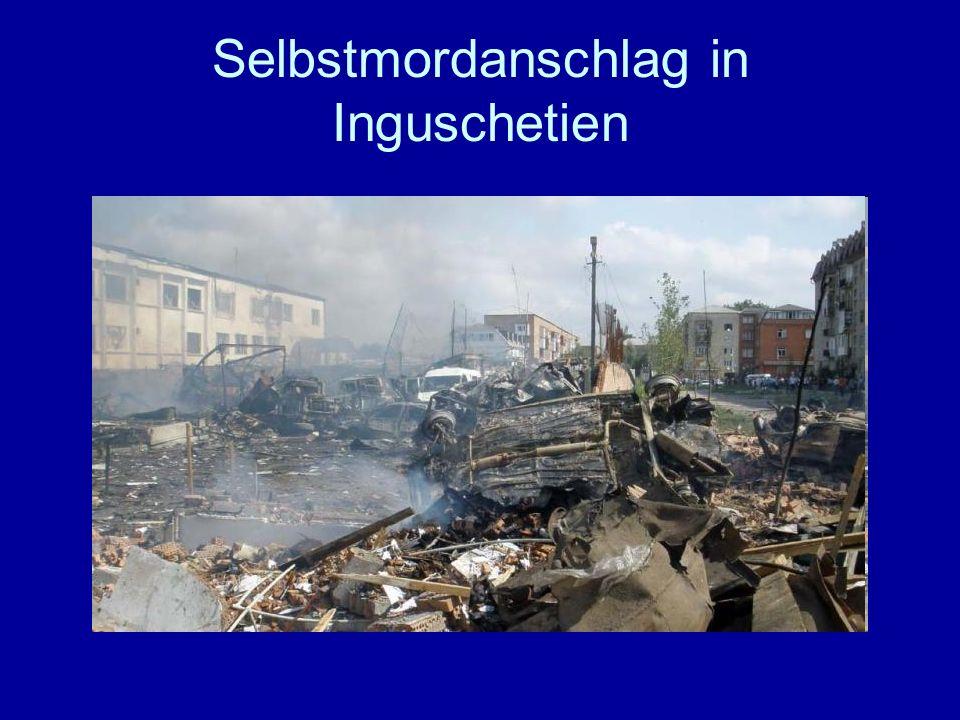 Selbstmordanschlag in Inguschetien