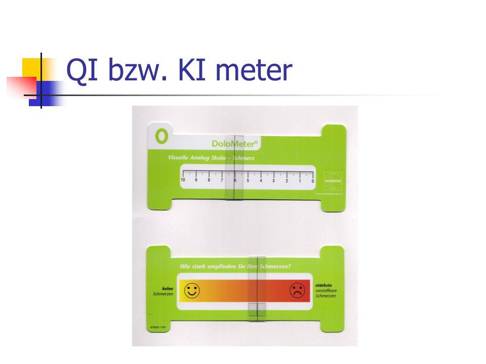 QI bzw. KI meter