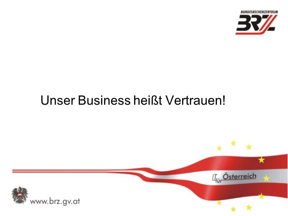 Unser Business heißt Vertrauen!