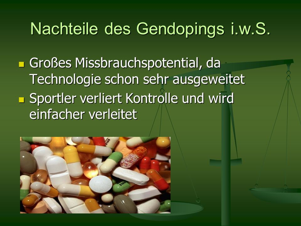 Gendoping am Bsp.