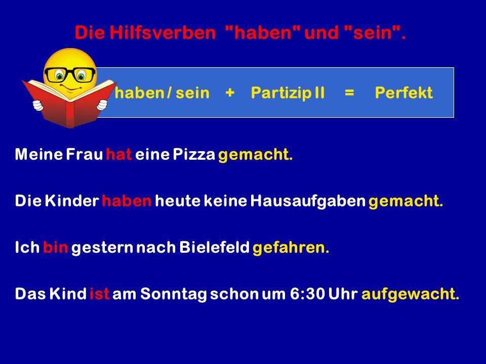 Das Partizip II.der regelmäßigen (pravilnih ) Verben.