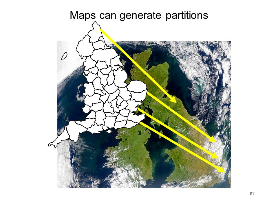 87 Maps can generate partitions