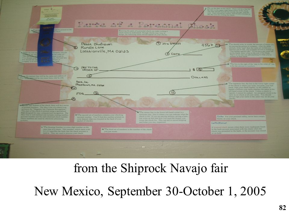 http://ifomis.org 82 from the Shiprock Navajo fair New Mexico, September 30-October 1, 2005
