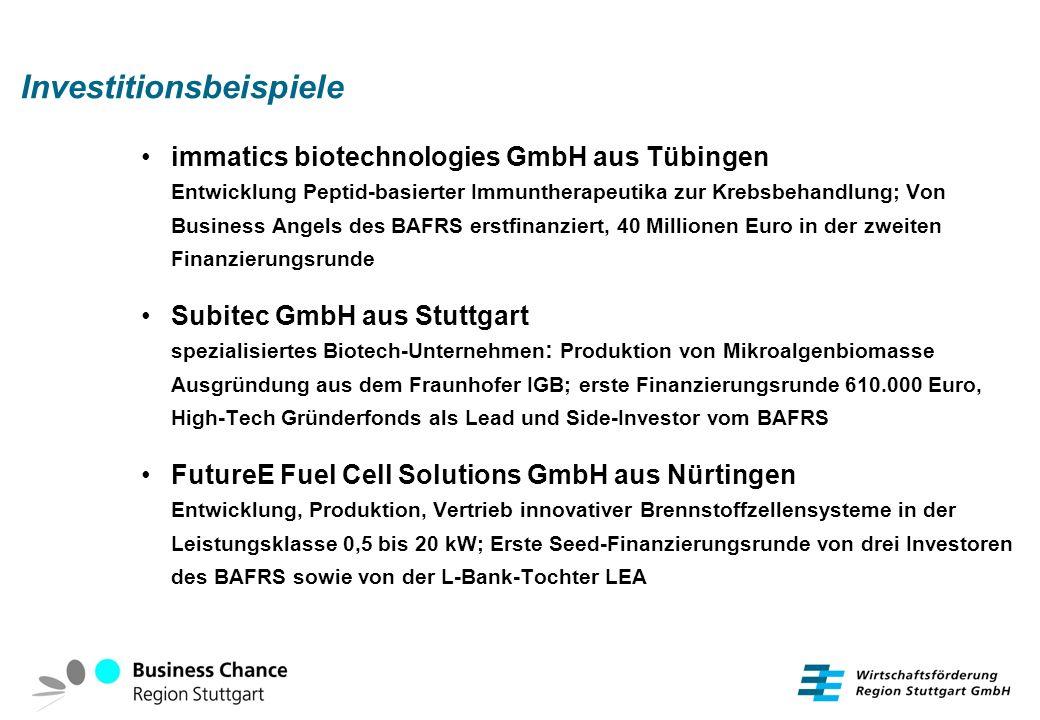 Investitionsbeispiele immatics biotechnologies GmbH aus Tübingen Entwicklung Peptid-basierter Immuntherapeutika zur Krebsbehandlung; Von Business Ange