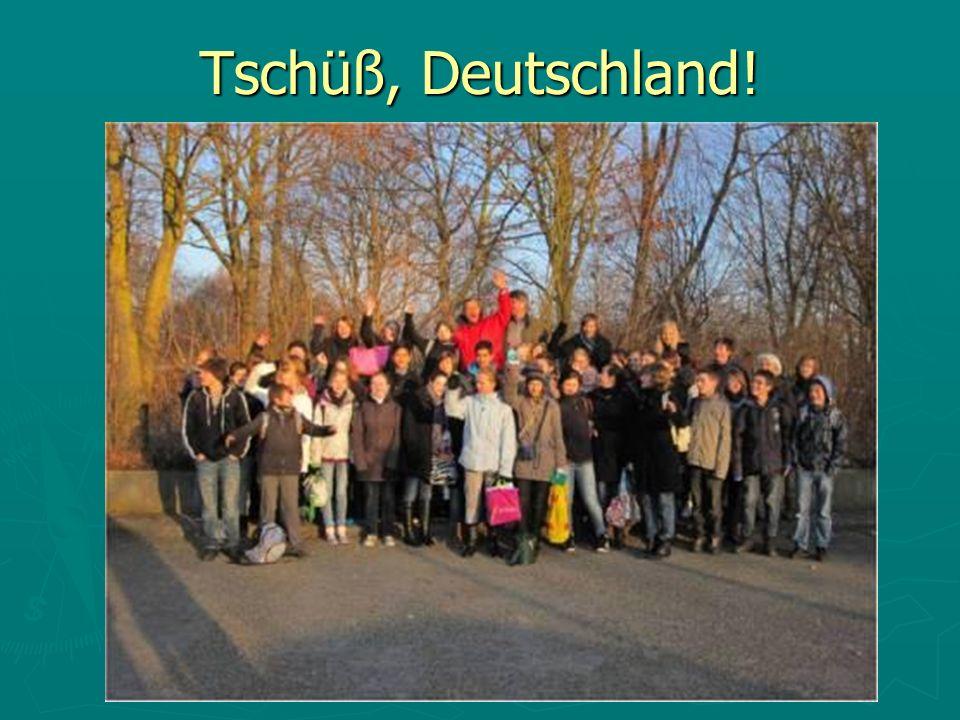 Tschüß, Deutschland!