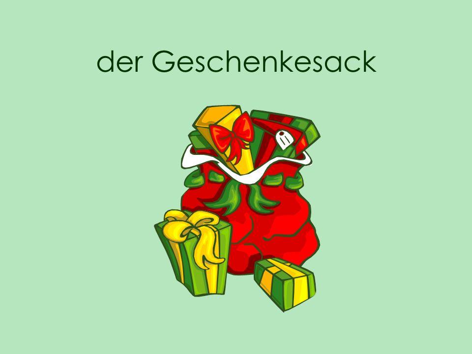 der Geschenkesack