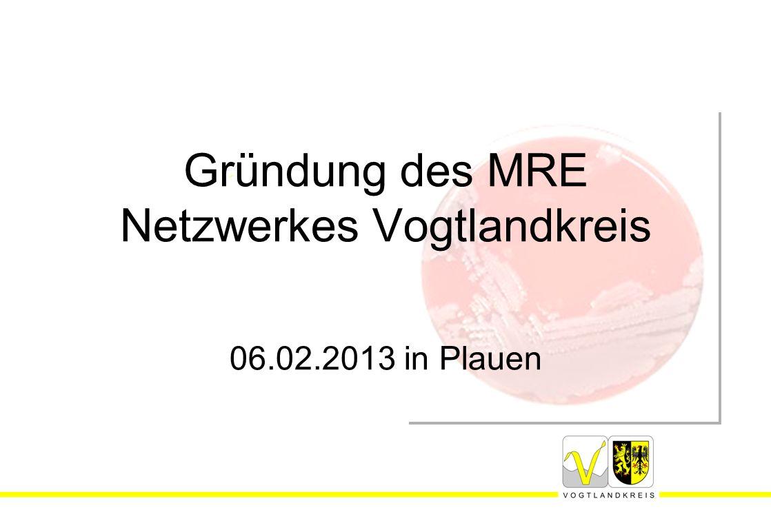 Gründung des MRE Netzwerkes Vogtlandkreis 06.02.2013 in Plauen