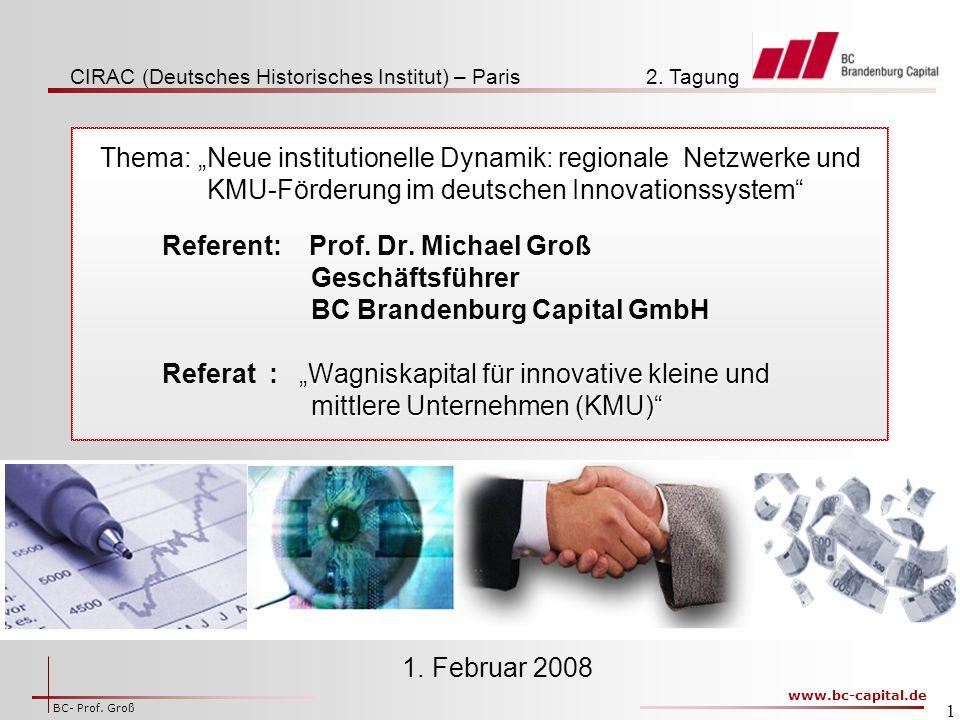 www.bc-capital.de BC- Prof.