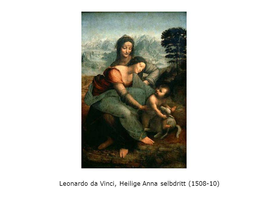 Leonardo da Vinci, Heilige Anna selbdritt (1508-10)