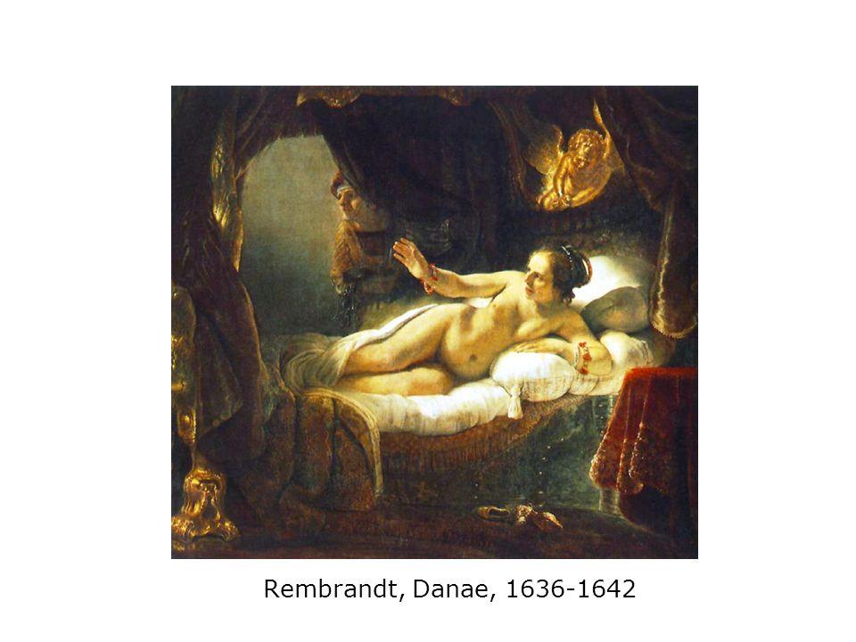 Rembrandt, Danae, 1636-1642