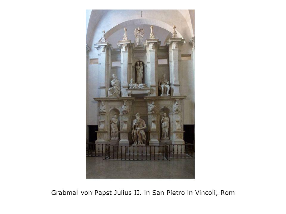 Grabmal von Papst Julius II. in San Pietro in Vincoli, Rom