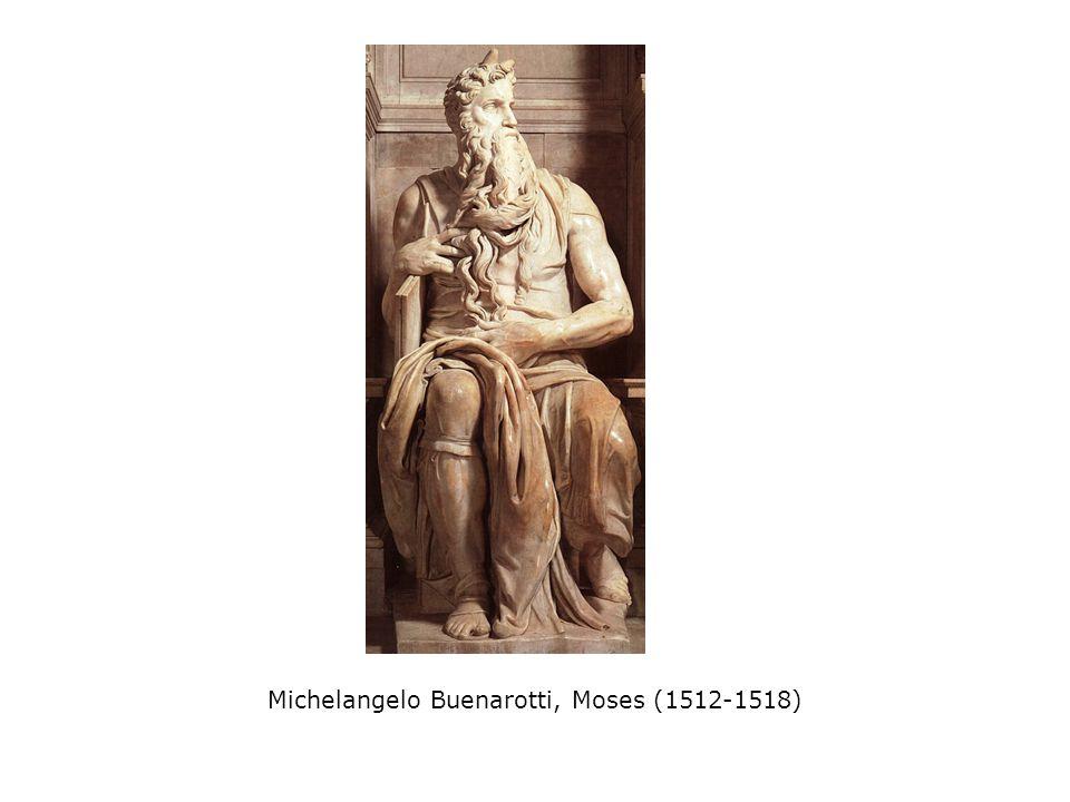 Michelangelo Buenarotti, Moses (1512-1518)