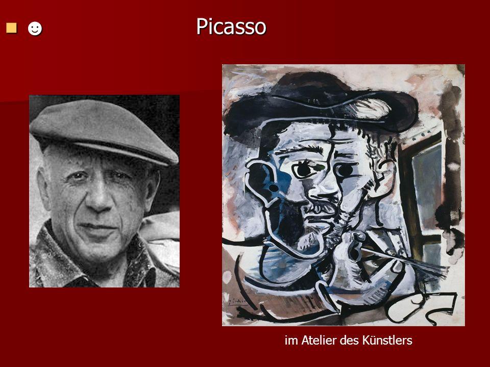 Picasso Picasso im Atelier des Künstlers