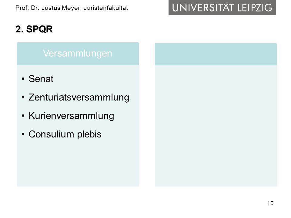 10 Prof.Dr. Justus Meyer, Juristenfakultät 2.