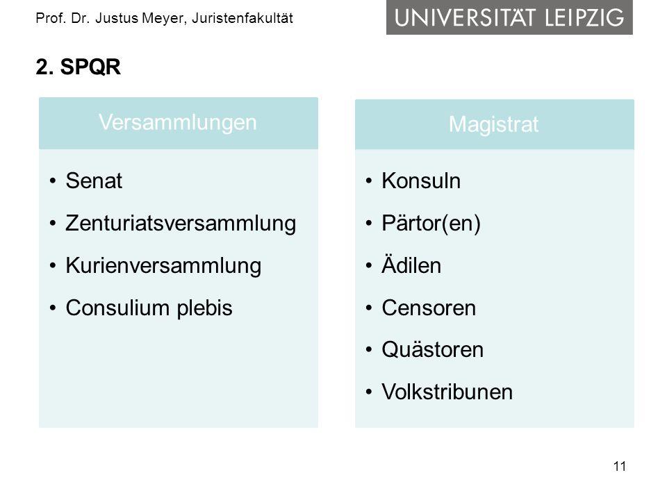 11 Prof.Dr. Justus Meyer, Juristenfakultät 2.