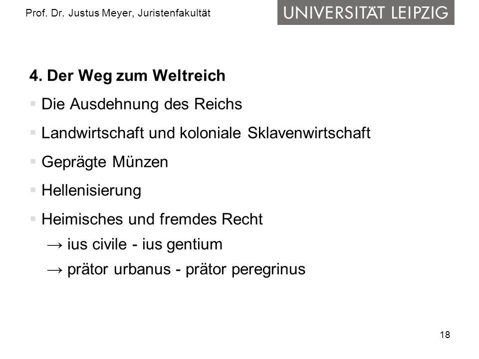 18 Prof.Dr. Justus Meyer, Juristenfakultät 4.