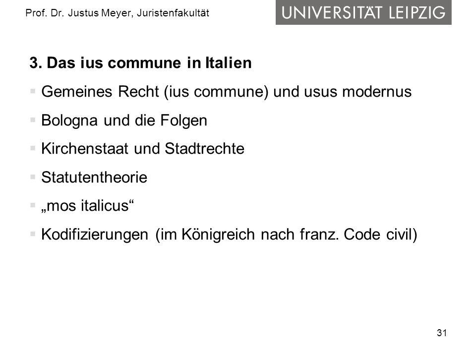 31 Prof.Dr. Justus Meyer, Juristenfakultät 3.