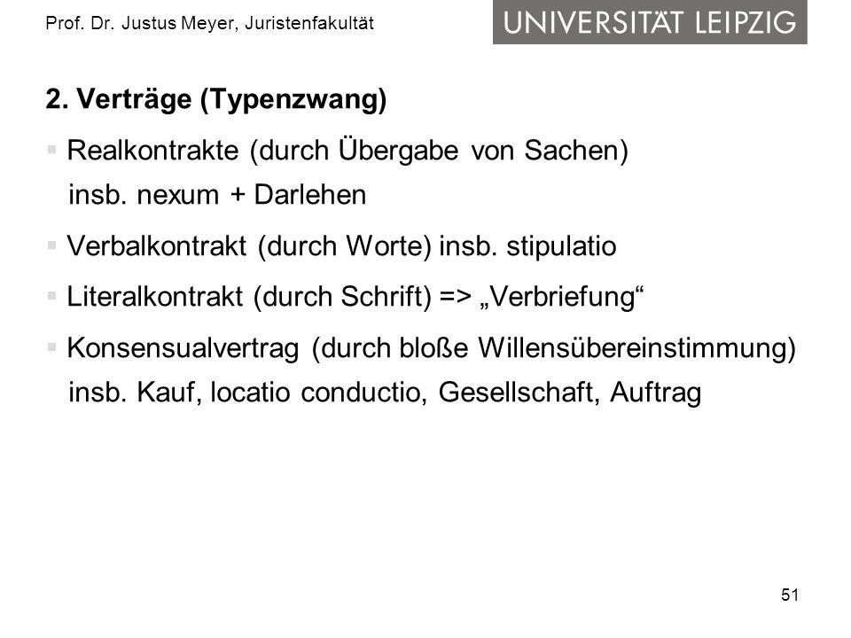 51 Prof.Dr. Justus Meyer, Juristenfakultät 2.