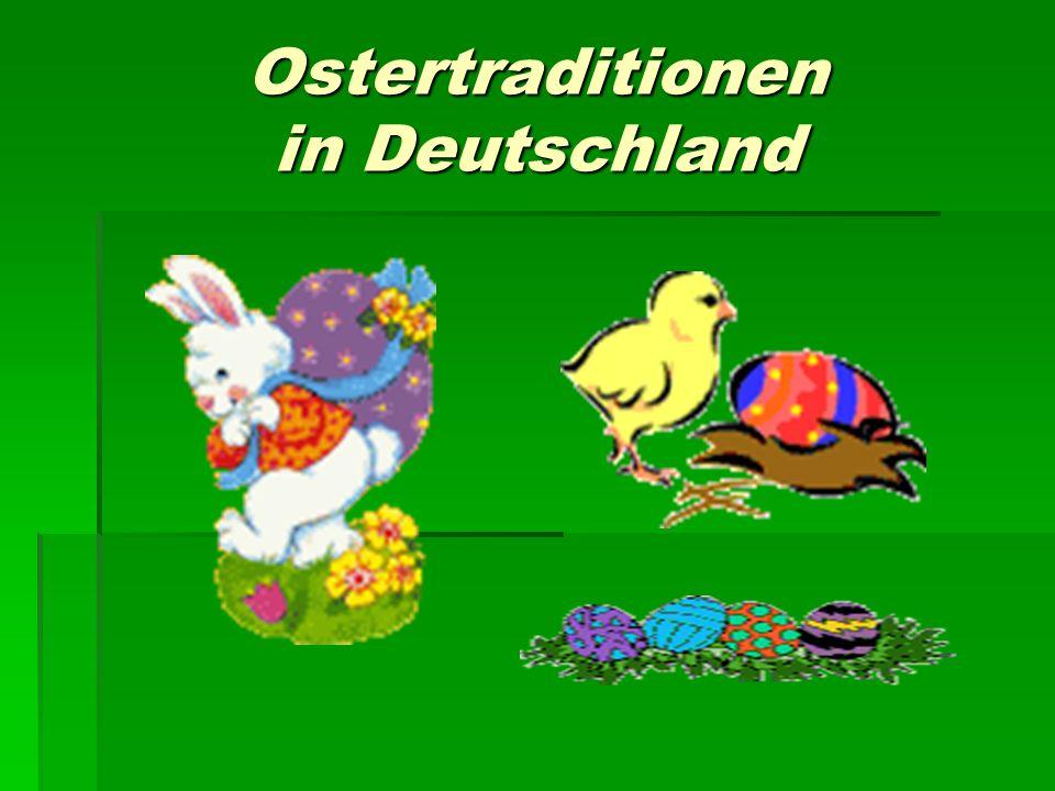 Die Osterspeise spielt eine besondere Rolle in der Osterzeit
