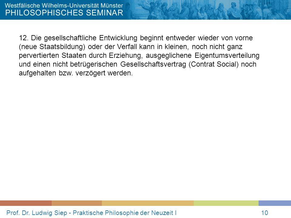 Prof.Dr. Ludwig Siep - Praktische Philosophie der Neuzeit I10 12.