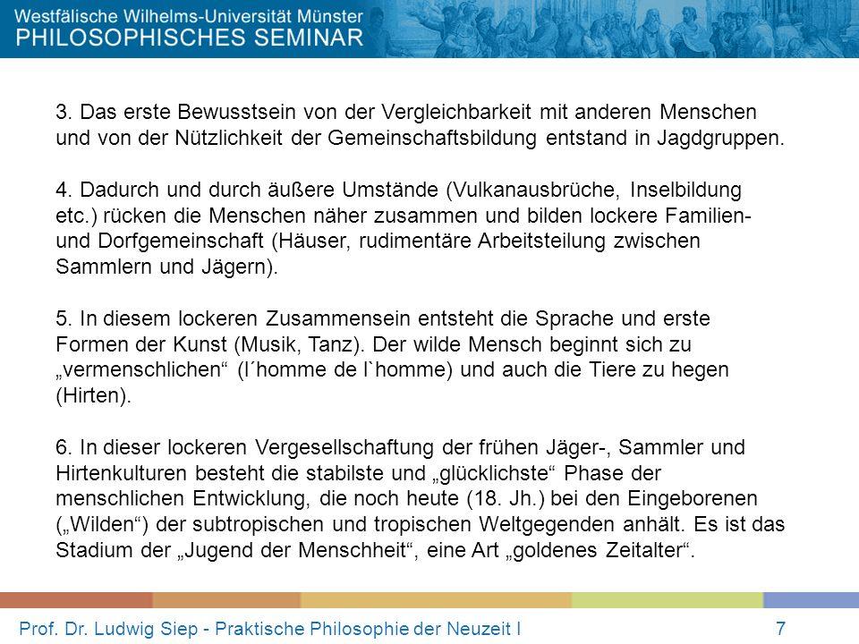 Prof.Dr. Ludwig Siep - Praktische Philosophie der Neuzeit I7 3.