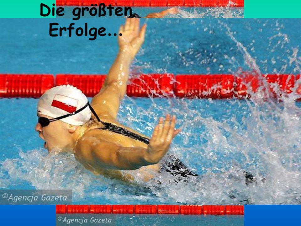 2002 – Europameisterin über 200 m Schmetterling 2003 – Weltmeisterin über 200 m Schmetterling 2004 – Olympiasiegerin über 200 m Schmetterling, Silberm