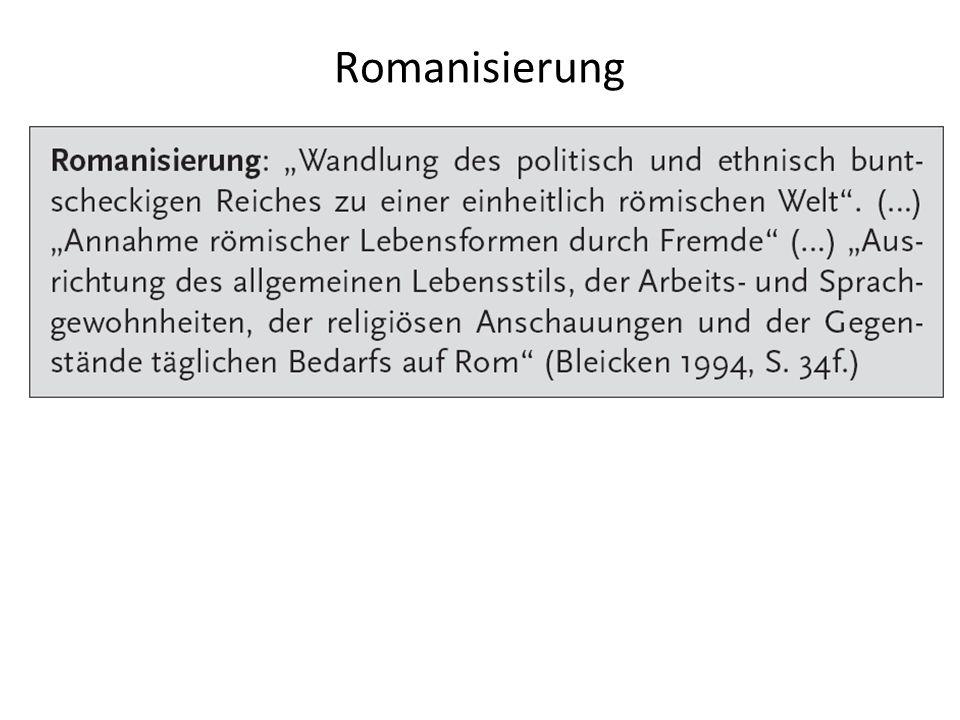 Romanisierung --