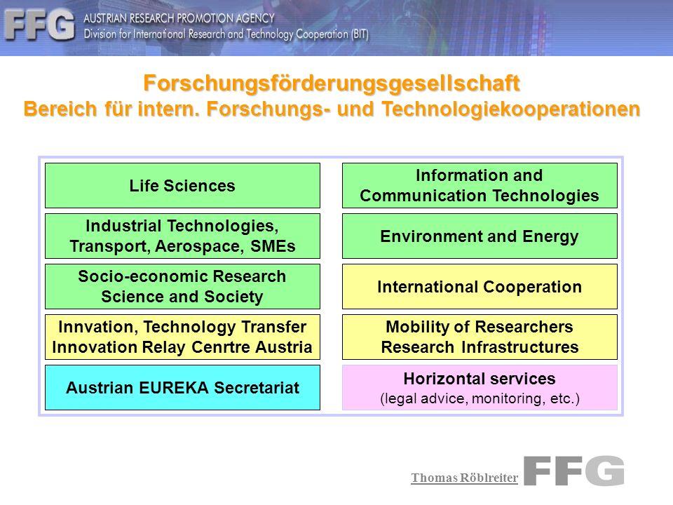Thomas Röblreiter Innovation Relay Centre Netzwerk Technologieimport : Sie haben eine technologische Problemstellung und finden in Österreich keine passende Lösung.
