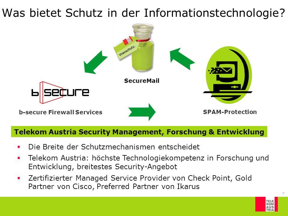 7 Was bietet Schutz in der Informationstechnologie.