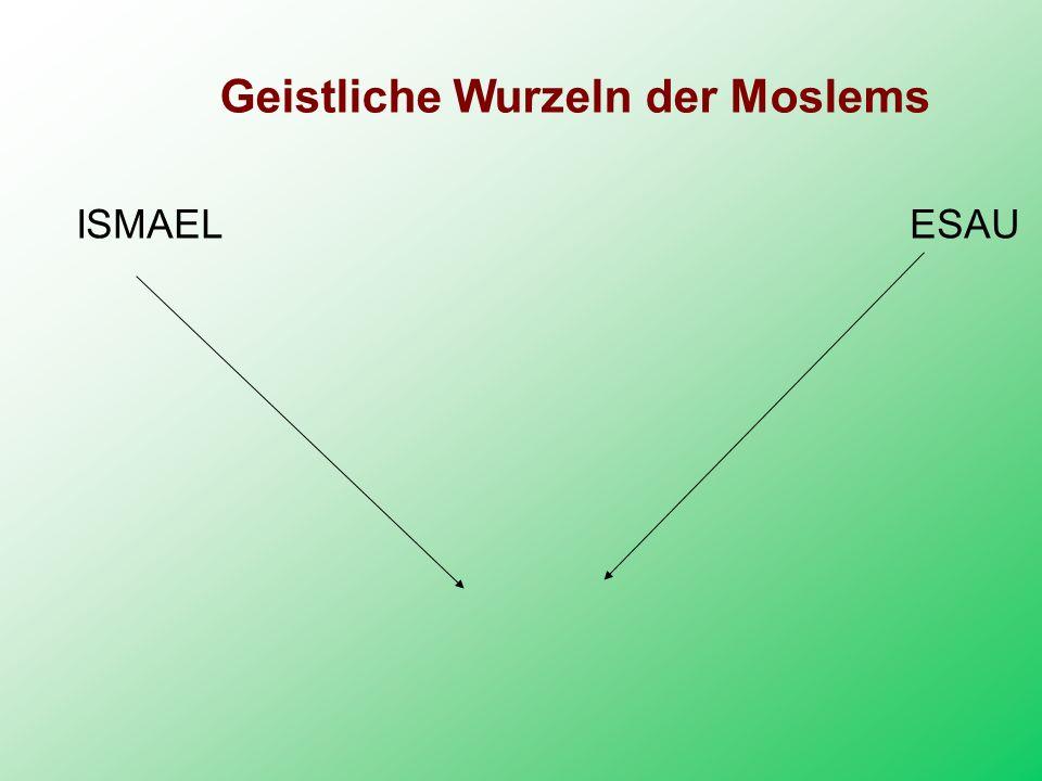 Geistliche Wurzeln der Moslems ISMAEL ESAU