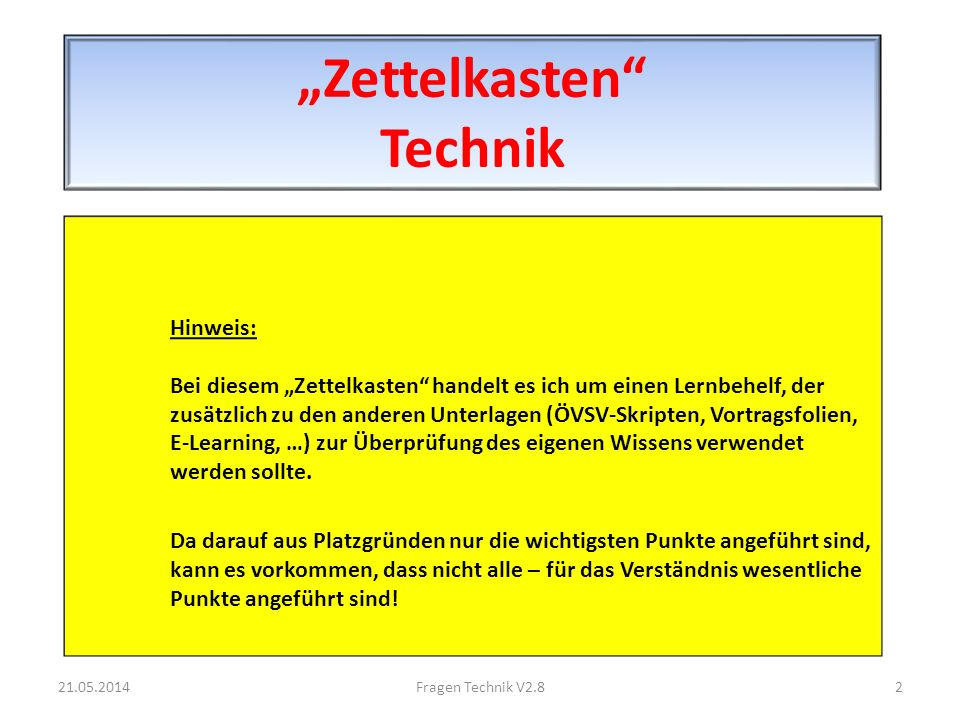 Definition Sendeleistung 21.05.2014173Fragen Technik V2.8