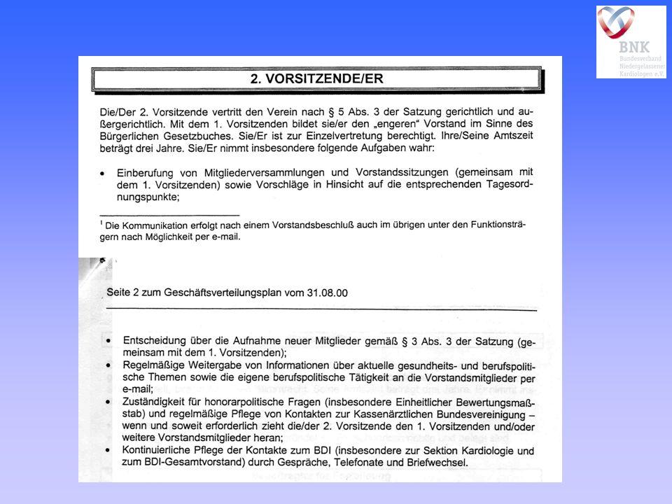 3) Nur in der Geschlossenheit des Verbandes wirkungsvoller Verhandlungspartner - Krankenkassen - fachärztliche Berufsverbände - private Krankenhausträger 4) Fortbildung, Akademie der DGK