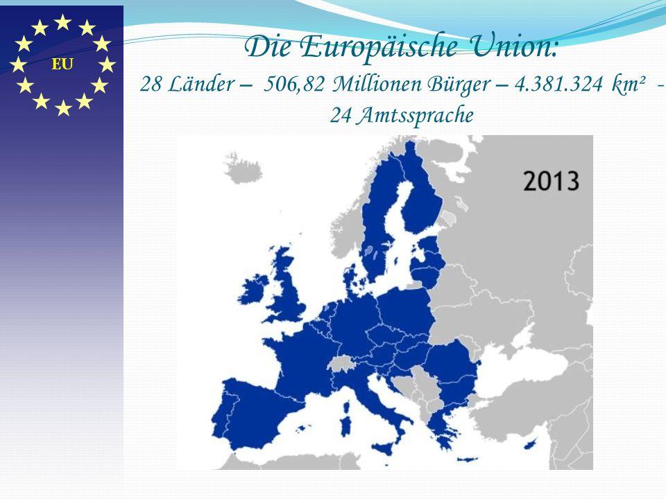 Das Europa der Zwölf 1986 Europa der Zwölf 1986 – die Anzahl der Mitgliedstaaten erhöhte sich auf zwölf: Portugal und Spanien traten bei.