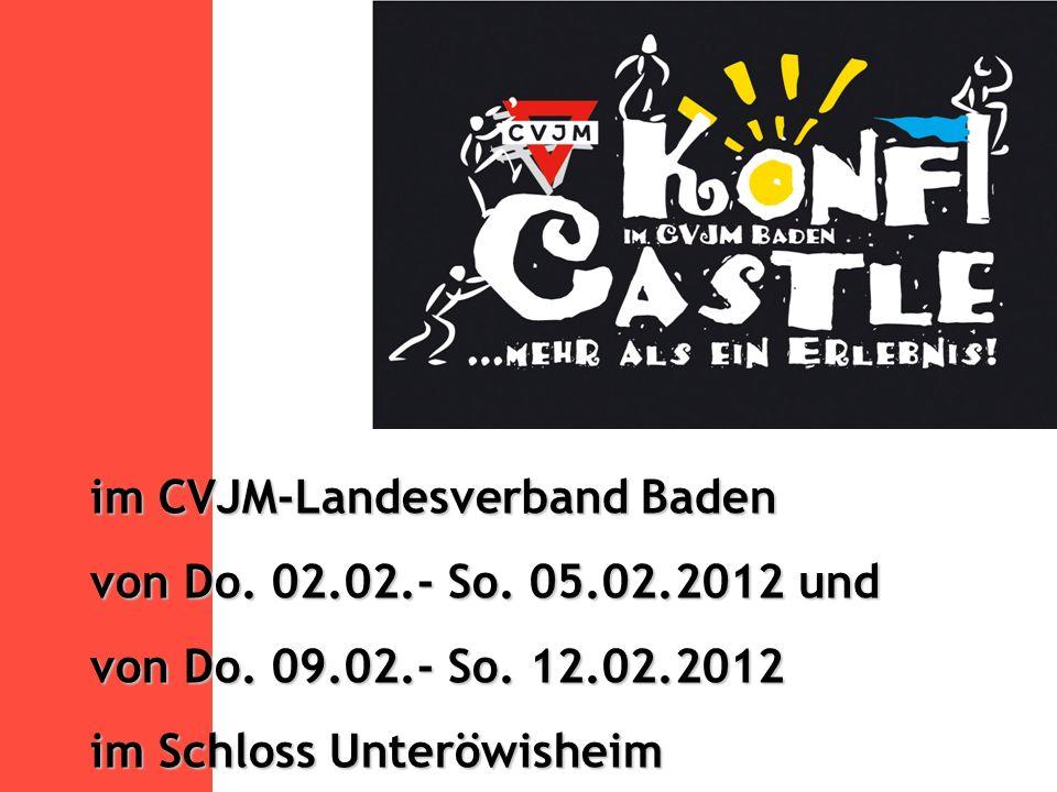 im CVJM-Landesverband Baden von Do. 02.02.- So. 05.02.2012 und von Do.