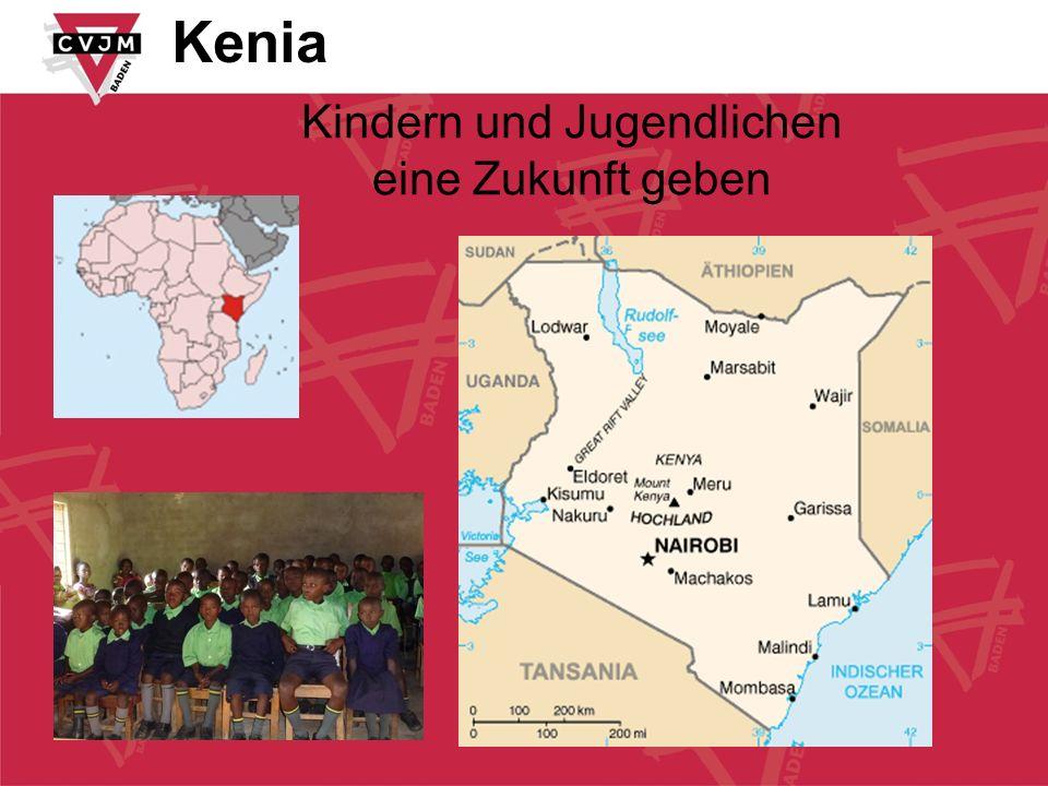 Kenia Kindern und Jugendlichen eine Zukunft geben