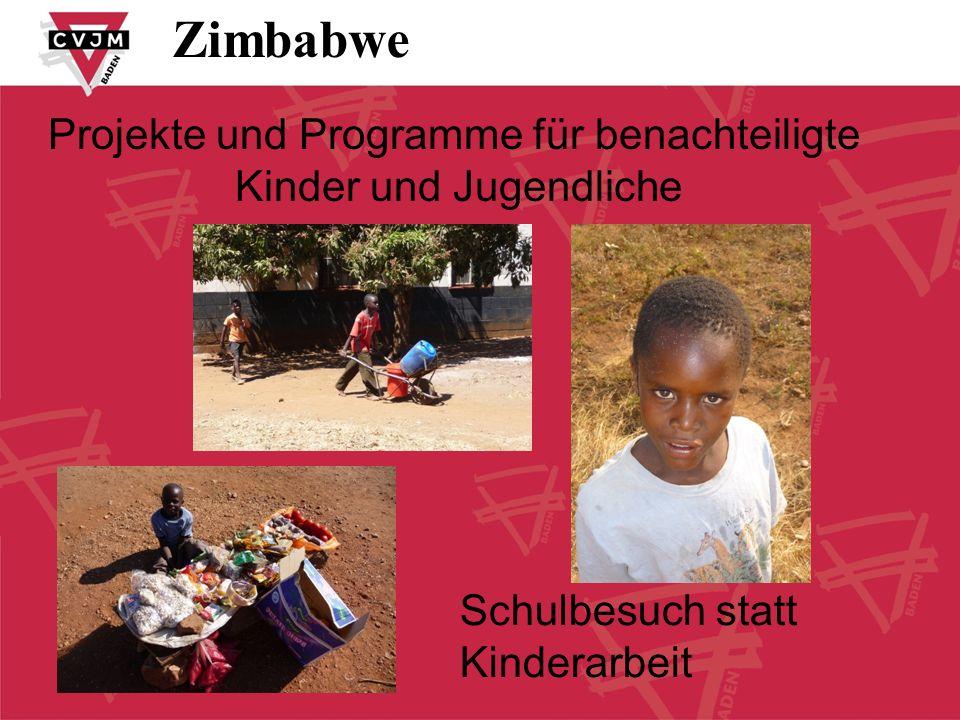 after school programme Zimbabwe