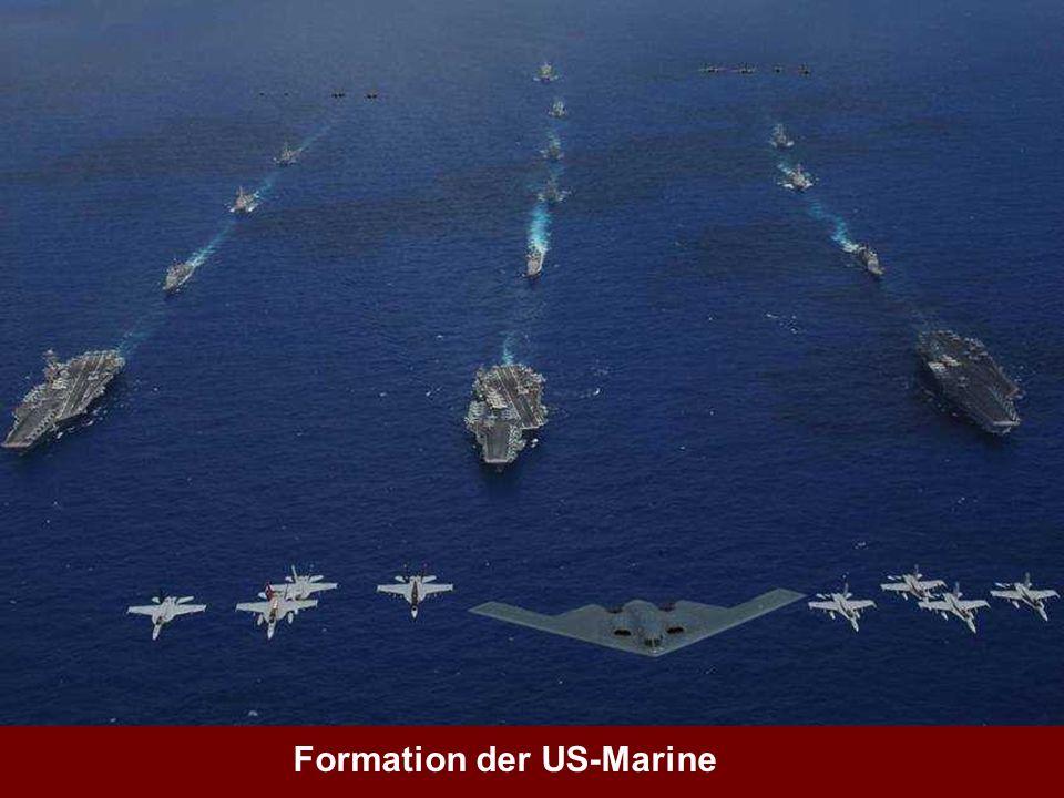 Formation der US-Marine