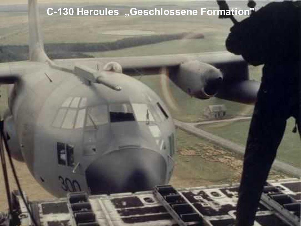 AC-130 wirft sein Missiles ab