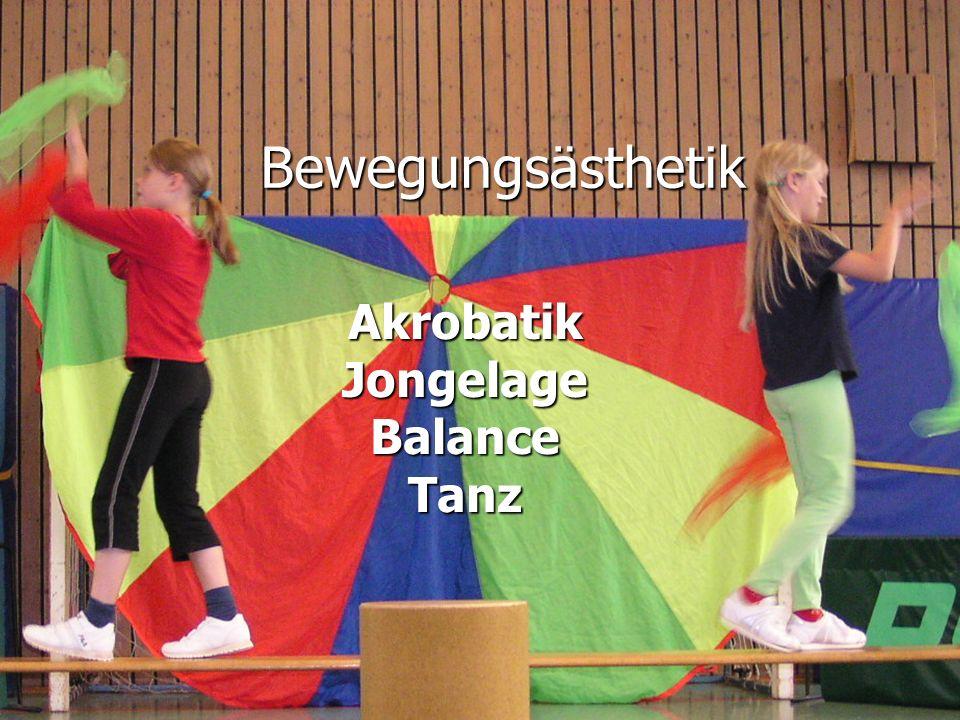 Bewegungsästhetik AkrobatikJongelageBalanceTanz