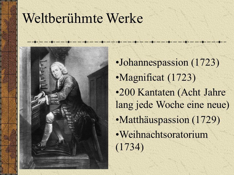 1723-1750 Thomaskirche in Leipzig Die Thomaskirche und –schule in Leipzig Bach-Denkmal
