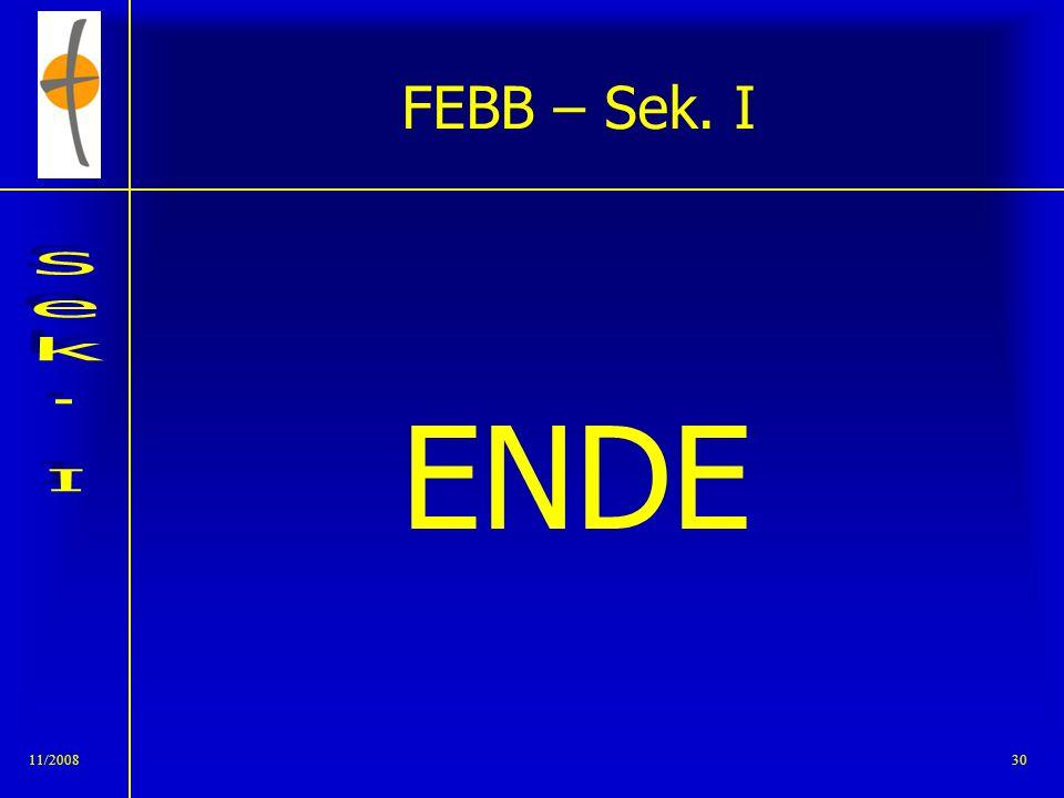 11/200829 FEBB – Sek. I Einladung zur Besichtigung des Teamtraktes 5/6