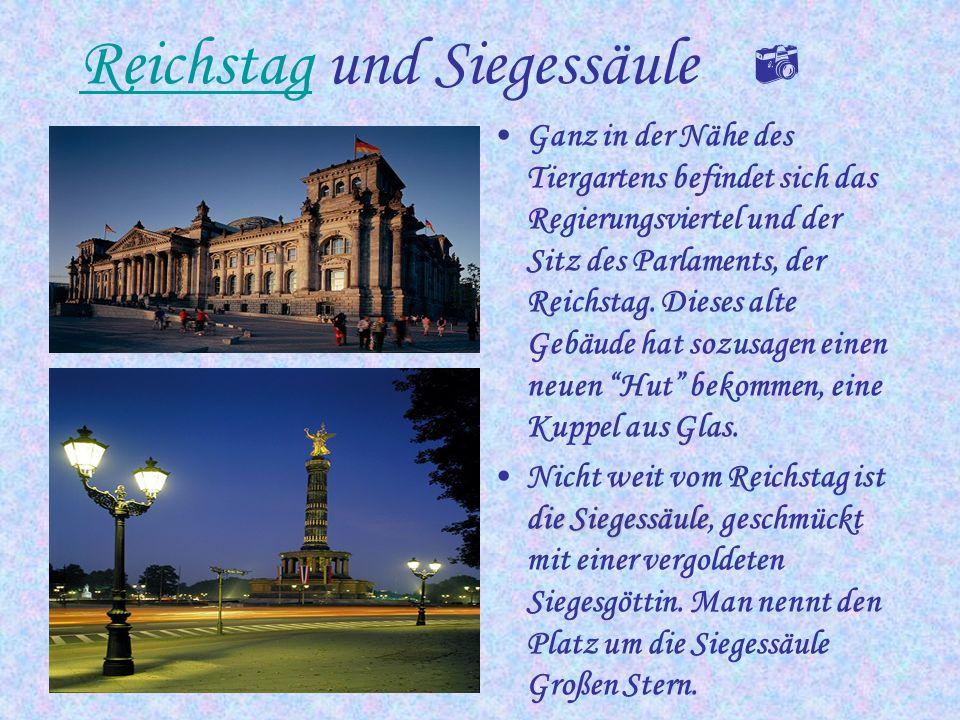 Reichstagsgebäude Hier sitzt das Parlament der BRD