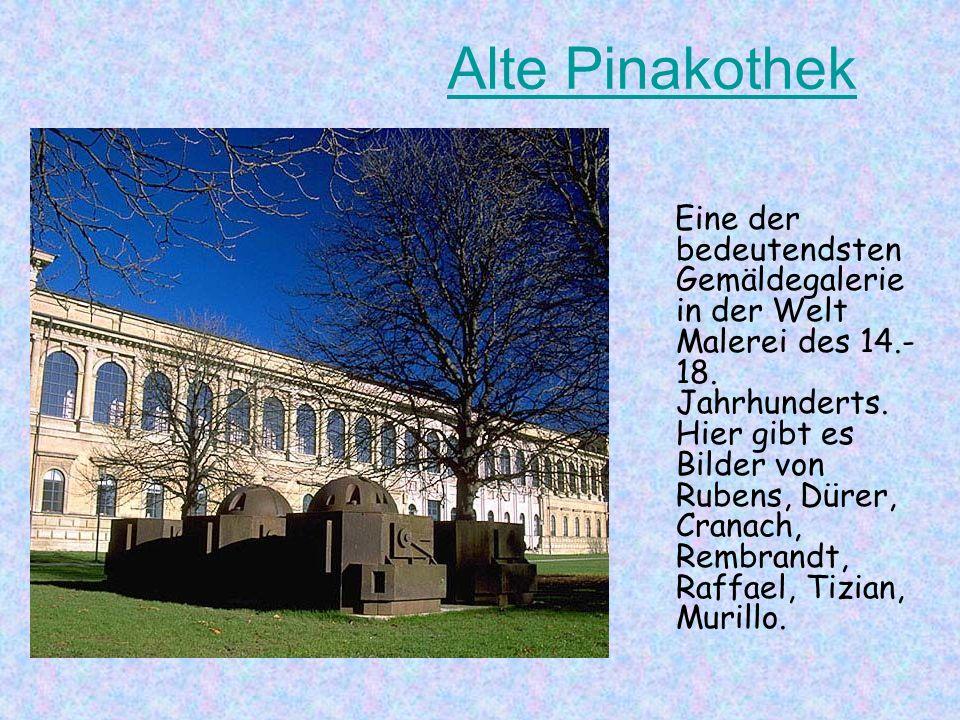 Alte Peter Alte Peter und Sankt Michaelkirche Das ist die Kirche Alte Peter. Sankt Michaelkirche ist der repräsentativste Renaissance-Kirchenbau in De