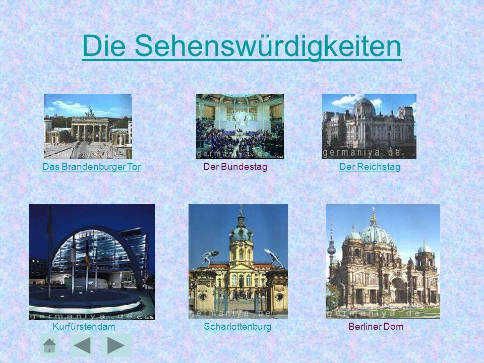 Berliner Schlösser In fast jedem Stadtbezirk Berlins befinden sich größere und kleinere Schlösser, oft mit einem Park.