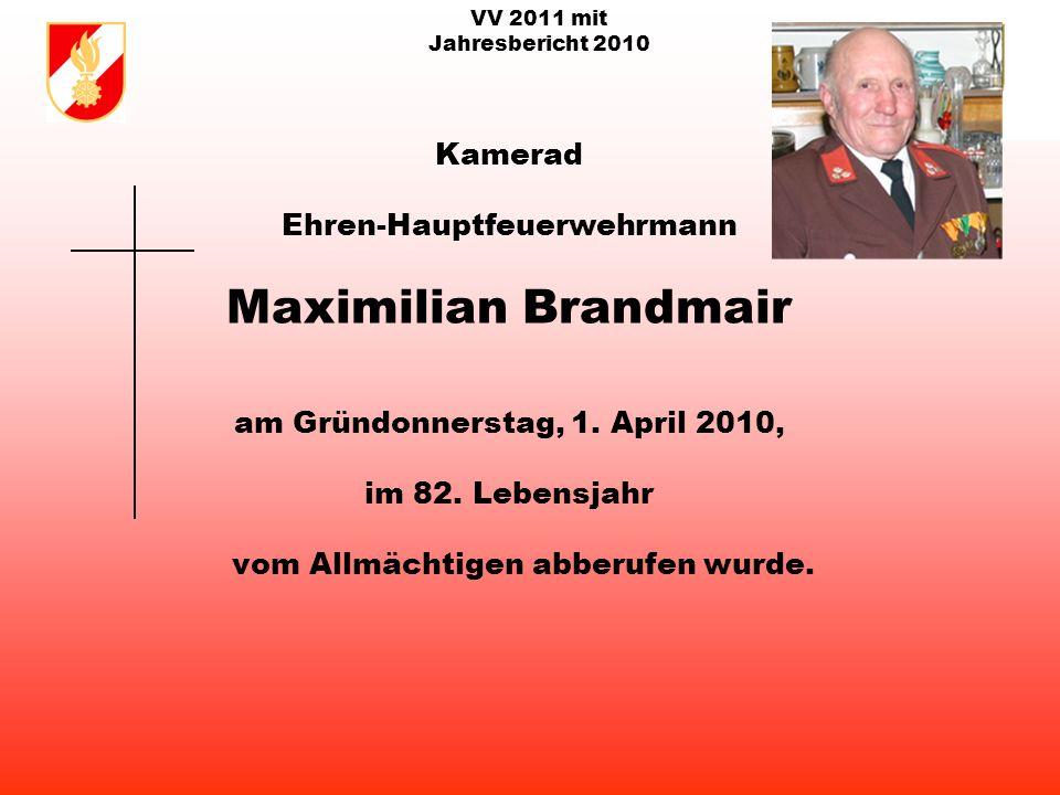VV 2011 mit Jahresbericht 2010 Seit 1883 127 Jahre FF Ottnang a.H.