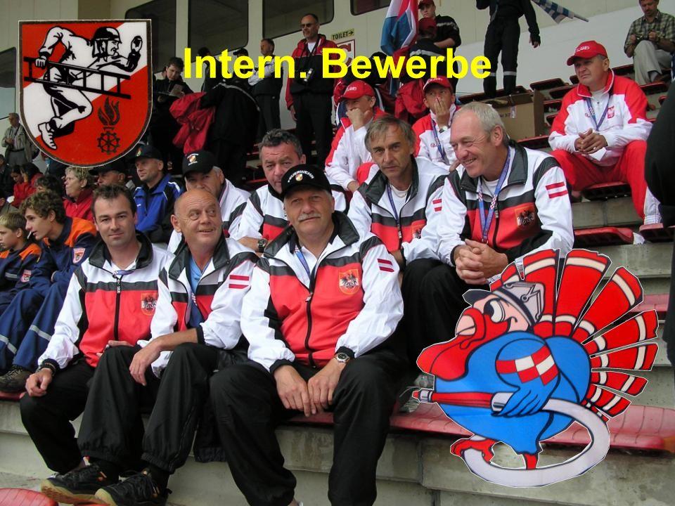 Intern. Bewerbe