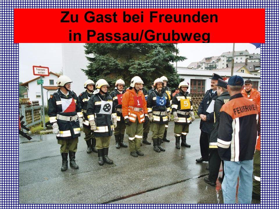 Zu Gast bei Freunden in Passau/Grubweg