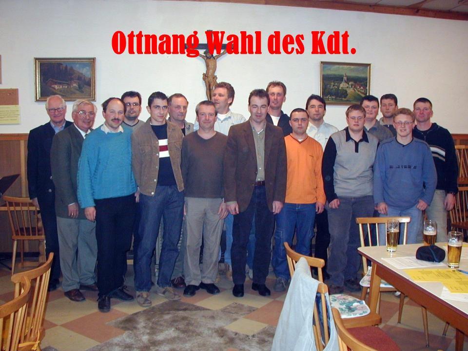 Ottnang Wahl des Kdt.