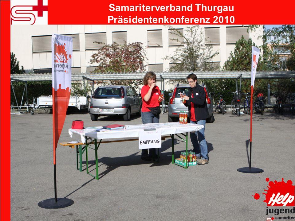 Samariterverband Thurgau Präsidentenkonferenz 2010