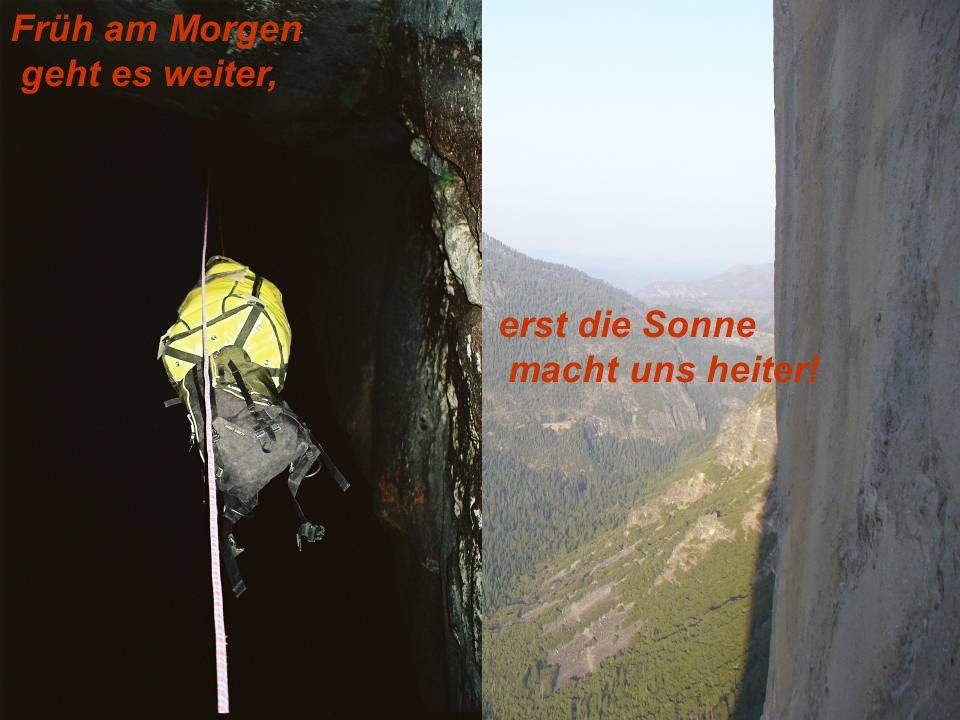Es ist alles möglich- Alpinklettern